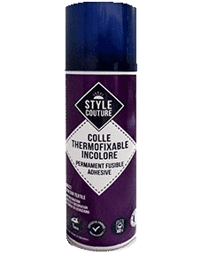 Colle textile thermofixable