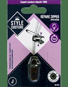 Répare zipper Style Couture