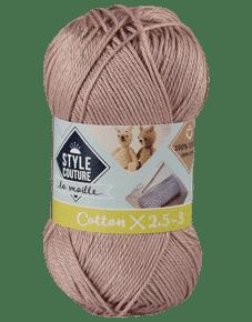 Fil 100% coton tricot